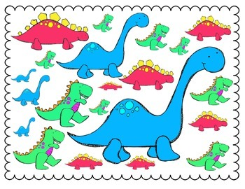 Les Dinosaures- Language and Math Centers in French