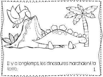 Les Dinosaures- fact book (Francais)