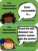 Les Discussions Responsables (Accountable Talk - en Français) posters, vocab etc