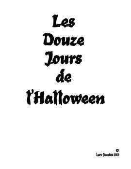 Les Douze Jours de l'Halloween Book