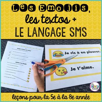 Les Emojis, les textos et la langage SMS