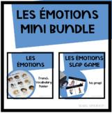 Les Émotions - French Emotions Mini-Bundle - Slap Game and