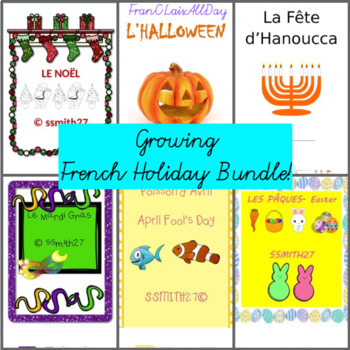 Les Fêtes - *GROWING* French Holiday Bundle