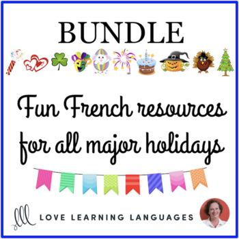 Les Fêtes - Holidays - Bundled French Resources