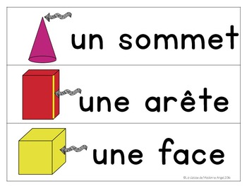 Les solides:  3D Solids Unit in French