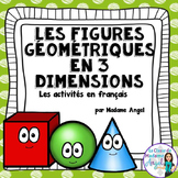 Les figures géométriques:  3D Solids Unit in French
