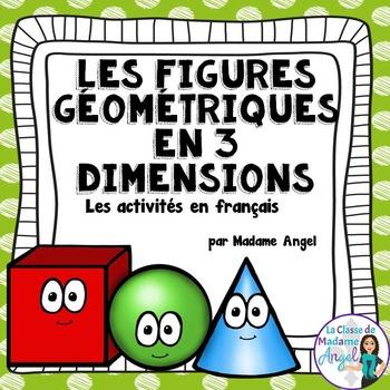 Les figures géométriques:  3D Solids Unit in French