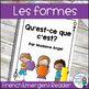 Les formes géométriques:  2D Geometry Mega Math Bundle in French