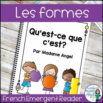 Les formes géométriques - A French Emergent Reader featuring 2D shapes