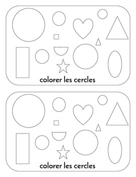 Les Formes - Shapes in French