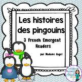 l'hiver: Penguin Themed Emergent Readers in French
