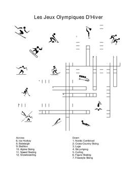 Les Jeux Olympiques D'Hiver