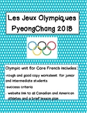 Les Jeux Olympiques Worksheets and Assignment