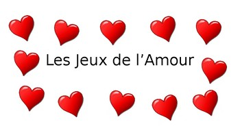 Les Jeux de l'Amour - Weather, Activity, & Invitation Vocab, Bien Dit 1 Ch. 5