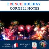 Les Jours de Fêtes Cornell Note Sheet