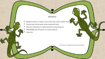 """Les Lizard's """"L"""""""