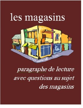 Les Magasins FRENCH Reading on Stores