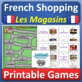 Les Magasins French Shopping and Stores Games