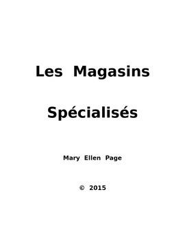 Les Magasins Specialises (ERIE)