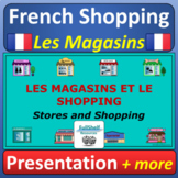 Les Magasins en Ville French Stores and Shopping Presentat