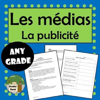 Les Médias – Projet - Annonce publicitaire (Media Literacy)