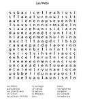 Les Metis - mots-caches (wordsearch)