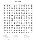 Les Metis - mots-caches (wordsearch)