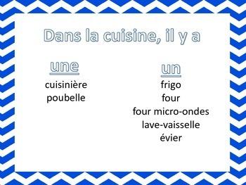 Les Meubles vocabulary