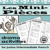 Les Mini-Pièces: Une activité de drame / Minimal Scripts Drama Activity