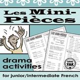 Les Mini-Pièces: Un activité de drame / Minimal Scripts Dr
