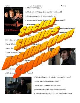 Les Miserables Movie Guide & Key (1990)