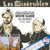 Les Misérables Movie Guide | Questions | Worksheet (PG13 - 1998)