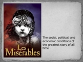 Les Miserables - social, economic, political discussion powerpoint