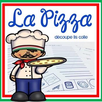 La Pizza - Découpe Colle Lis