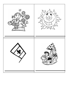 Les Mois/The Months French Vocabulary Printing Handout