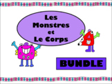 Les Monstres et Le Corps Bundle – The Body Vocabulary in French