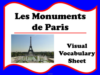 Les Monuments de Paris (French)