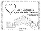 Les Mots Caches: Le Jour de St Valentin
