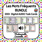 Les Mots Fréquents BOOM cards - 10 games with AUDIO French