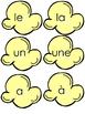 Les Mots de Mais Souffle - K-2 Popcorn Sight Words