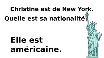 Les Nationalités Powerpoint