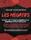Les Négatifs - French Negative Expressions