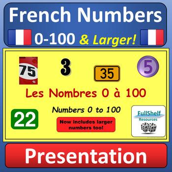 Les Nombres 1-100 BUNDLE