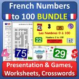 Les Nombres 1-100 French Numbers BUNDLE
