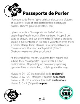 Les Nombres Importants: discussion prompts on French numbers/counting