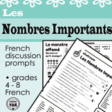 French Chatroom: Les Nombres Importants/Numbers and Counting