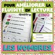 Les Nombres - Reading Fluency Practice Sheets and Center