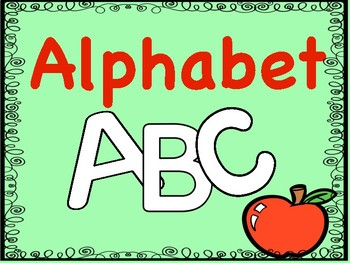 Letter Tracing Alphabet