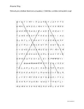 Les Numéros - Les Mots Cachés (multiples de 10)