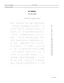 Les Numéros - Les Mots Cachés (1-20)